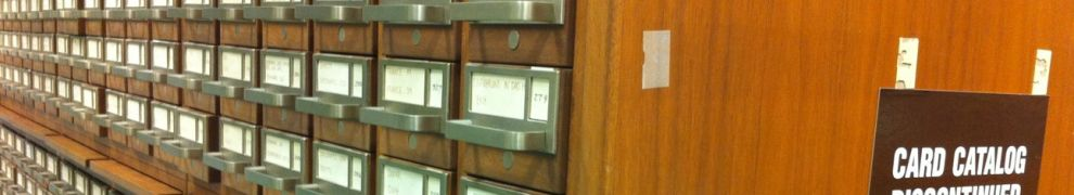 An image of a card catalog from the library of congress.